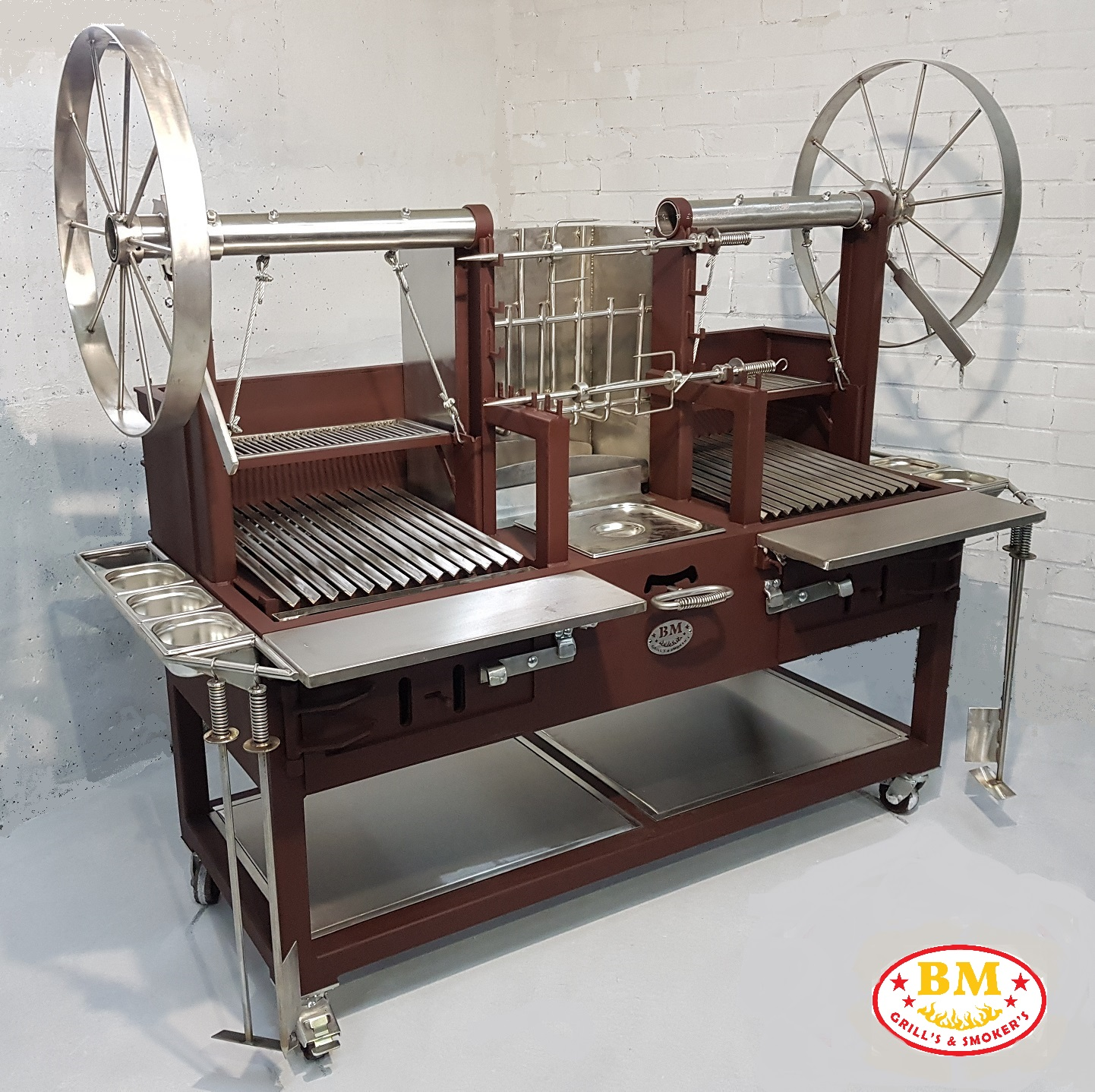 """""""BM G-5 Plus""""   Dual Grill with ember maker"""